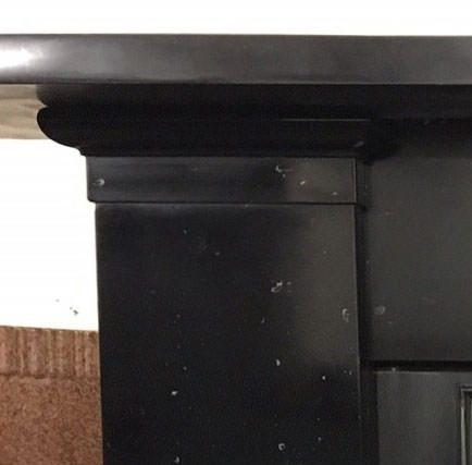 Black Kilkenny marble surround