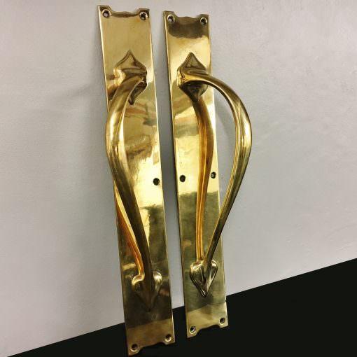 Art Nouveau Door pulls