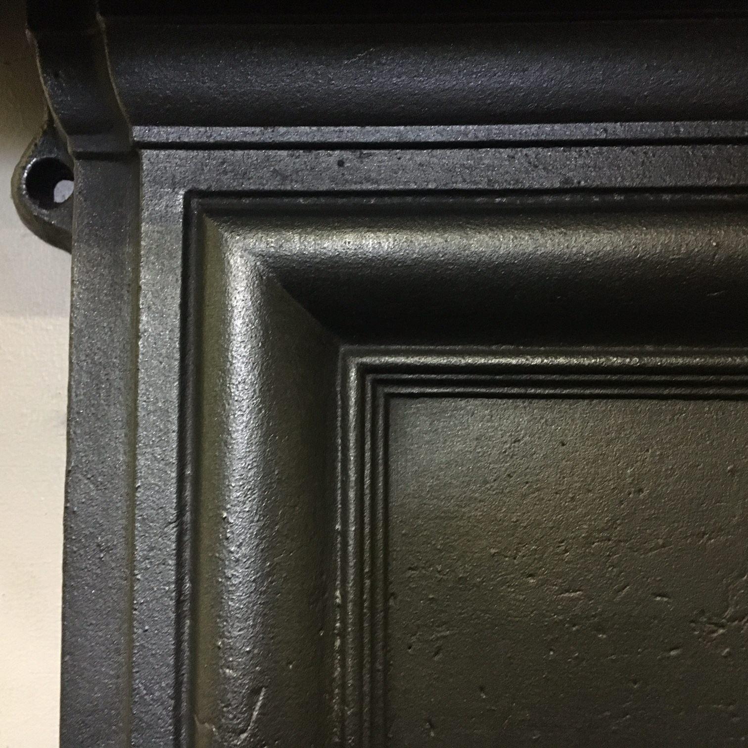 Original Edwardian bedroom fireplace