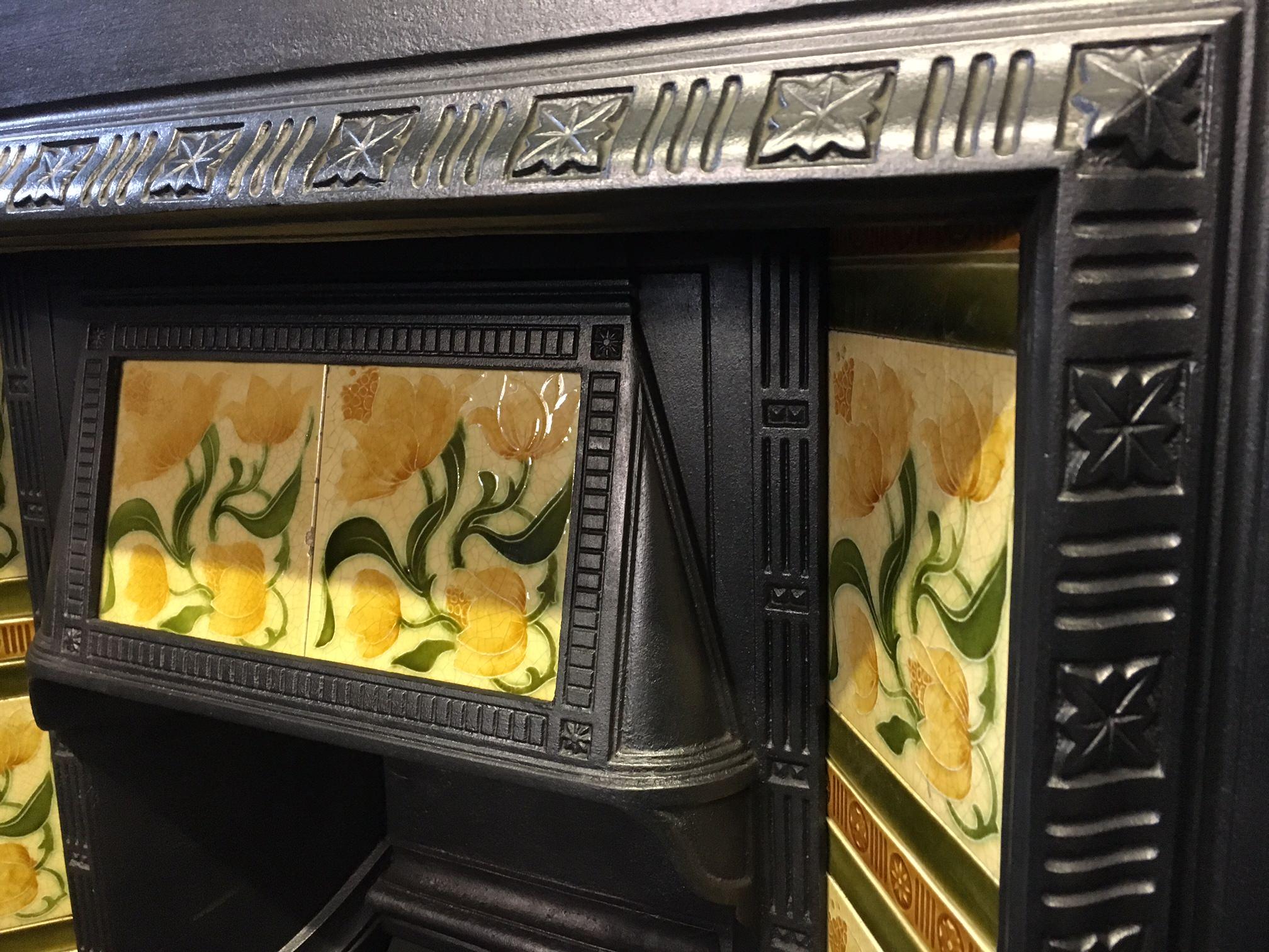 Art Nouveau Tiled Insert