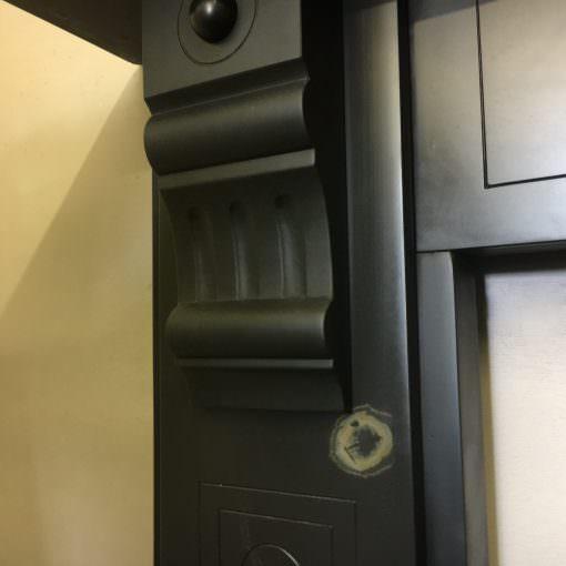 Original slate surround