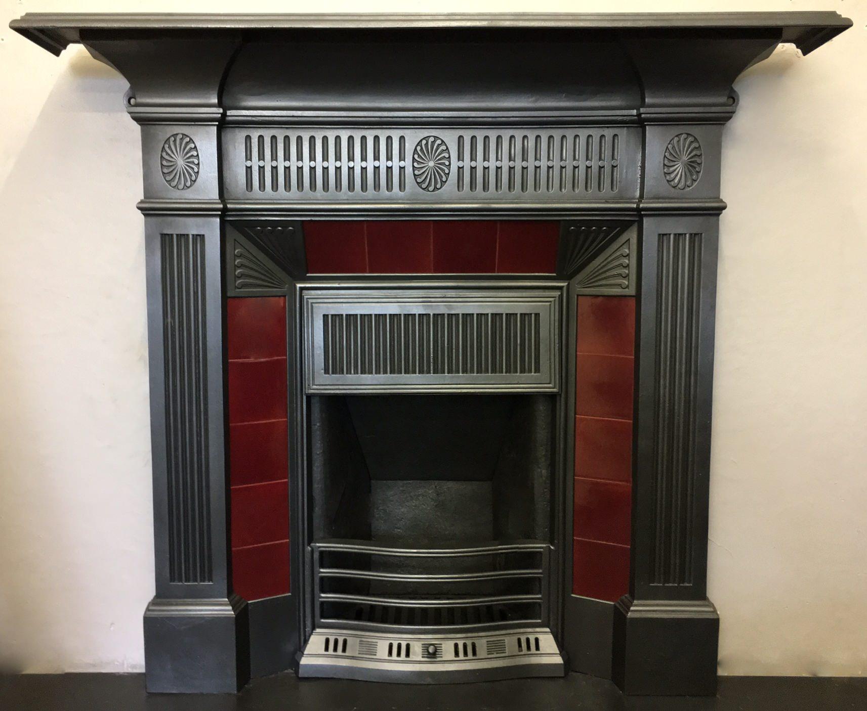 original victorian tiled combination tc021 olde worlde fireplaces