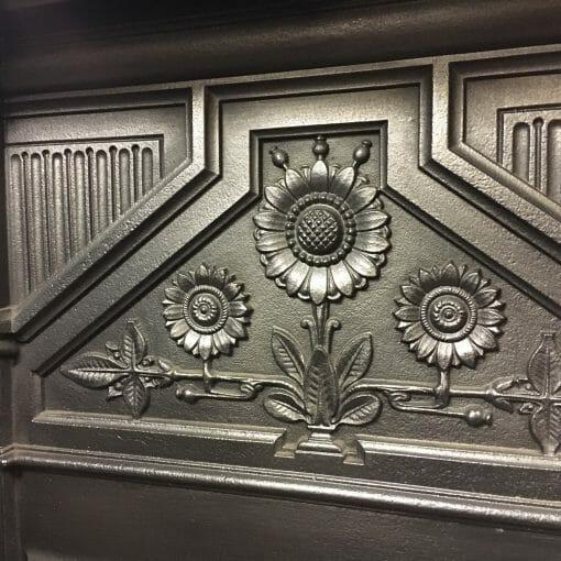 Victorian Daisy Fireplace