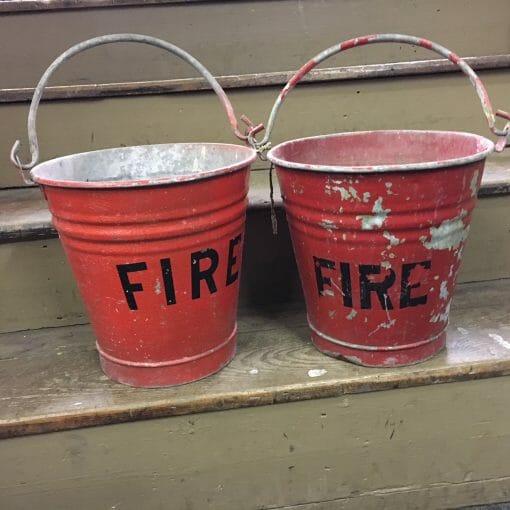 Vintage Fire bucket