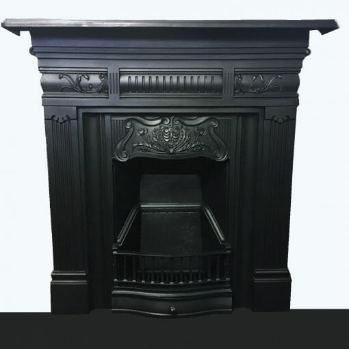 Edwardian Art Nouveau fireplace
