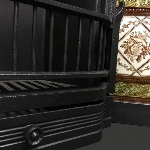 Antique cast iron tiled insert