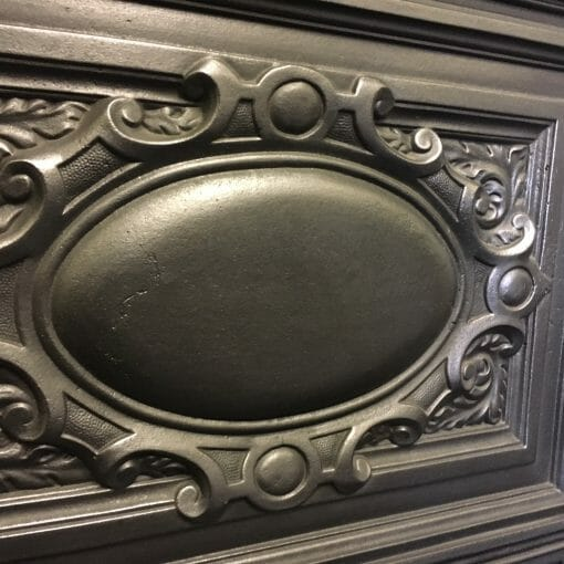 Tall Victorian cast iron combination