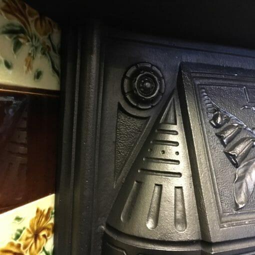 Victorian Cast Iron Insert