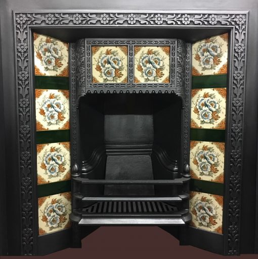 Victorian tiled Insert