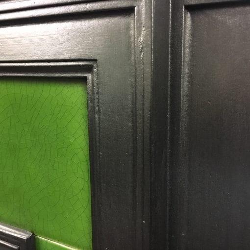 Original Victorian tiled combination