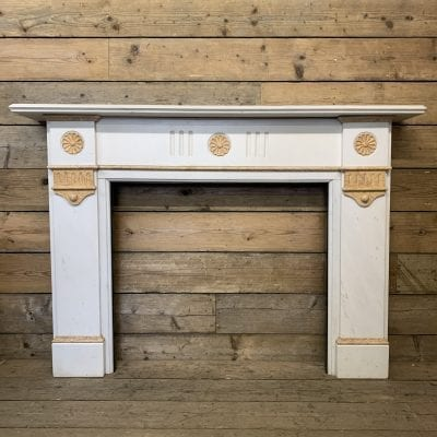 Antique Statuary Marble surround