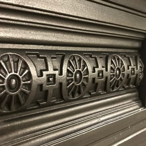 Late Victorian Cast Iron combination
