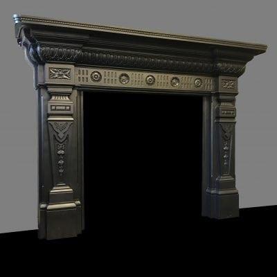 Antique Cast Iron Surround