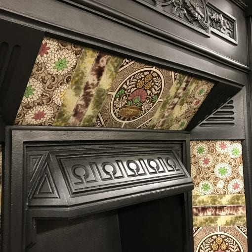 Large Victorian Tiled Combination