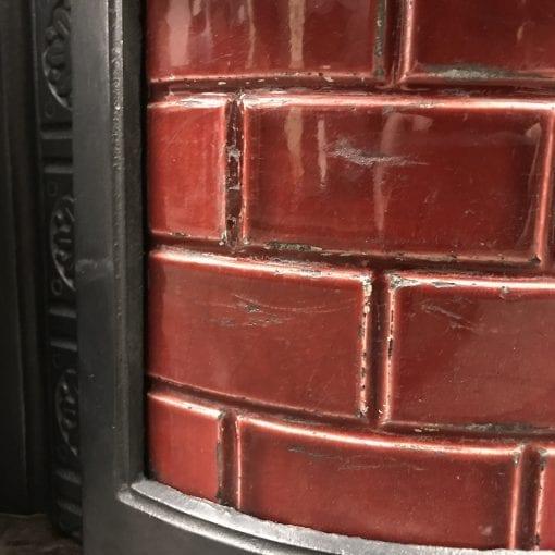 Original Victorian Tiled potstand
