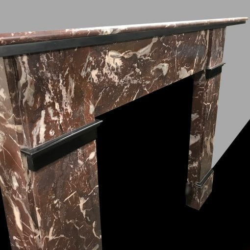 Rouge Marble Fire Surround