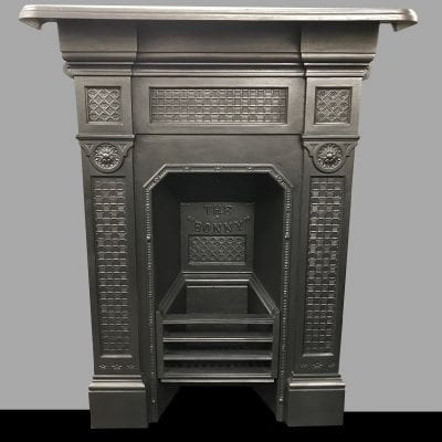Original Bedroom combination fireplace