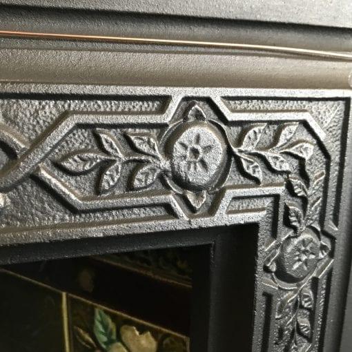 Original Victorian Tiled Insert