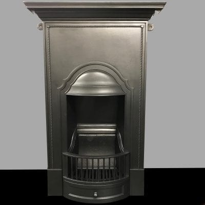 Original Cast Iron bedroom fireplace