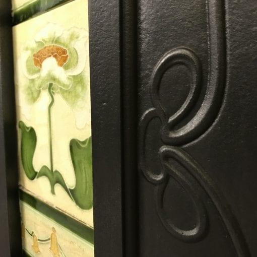 Original Art Nouveau Tiled Combination