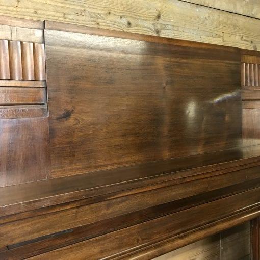 Original Art Deco wood surround