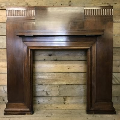 Original Art Deco wood surround