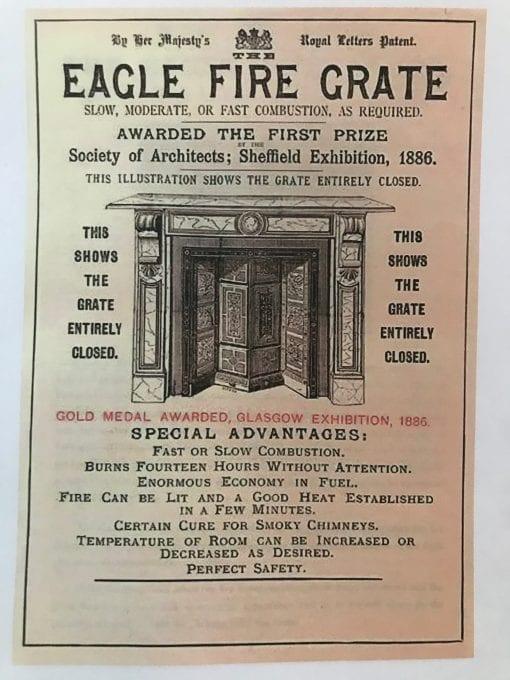 Original Gold Medal Eagle Grate