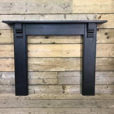 Original Victorian slate surround