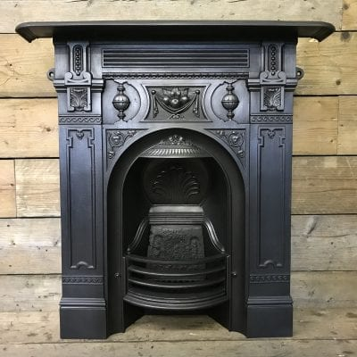 Antique Victorian Bedroom Fireplace
