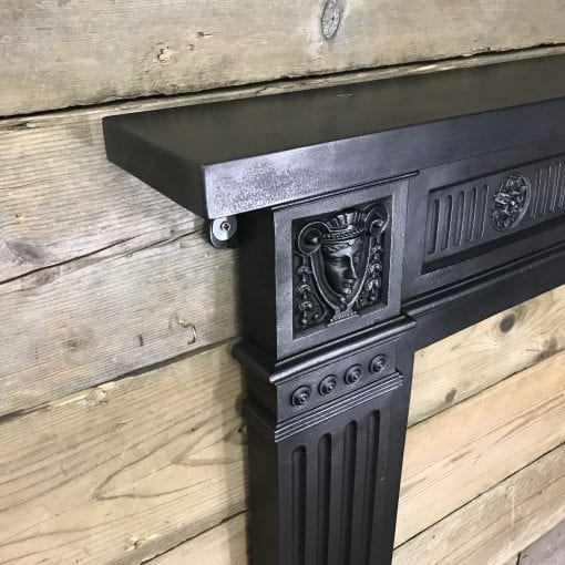 Victorian Cast Iron Surround