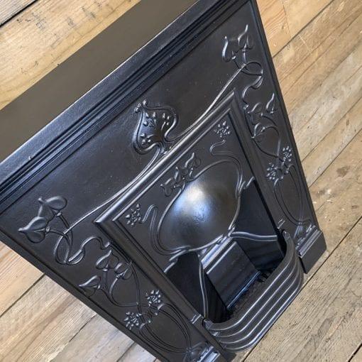 Antique Art Nouveau Fireplace