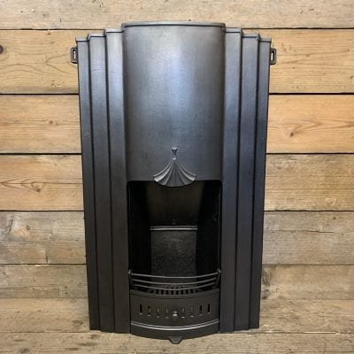 Art Deco bedroom fireplace