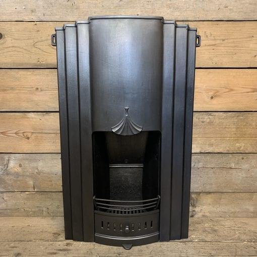 Art Deco bedroom fireplace