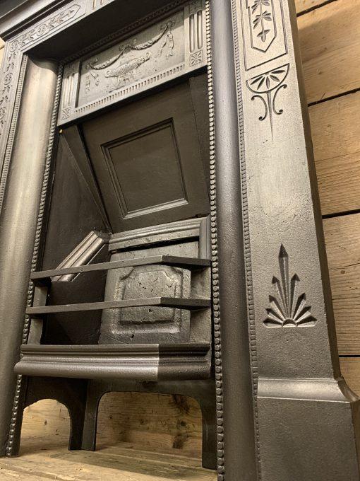 Antique Victorian bedroom fireplace