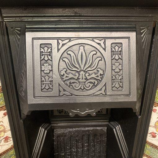 Victorian Art Nouveau fireplace