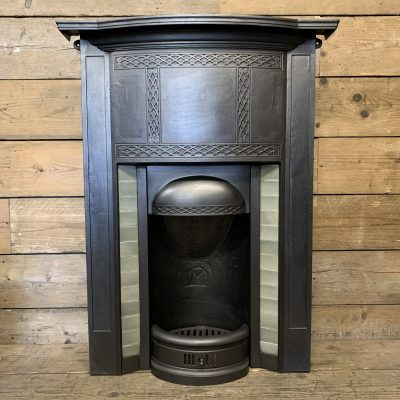 Early 20th Century Tiled Fireplace