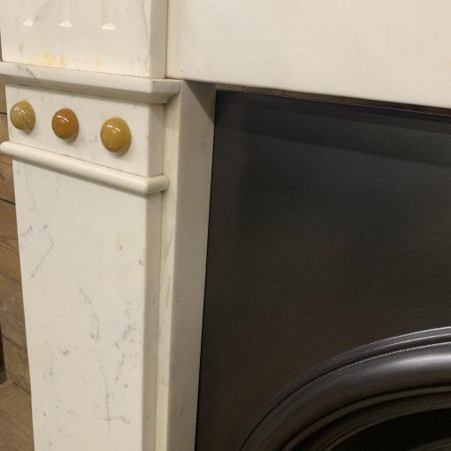 Original Carrara Marble surround