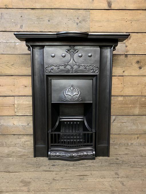 Antique Art Nouveau Bedroom fireplace