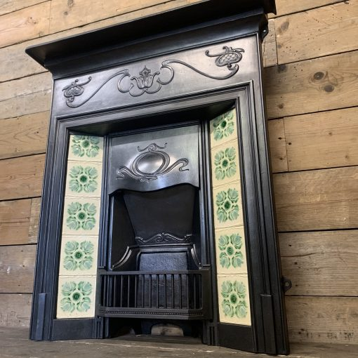 Art Nouveau Combination Grate