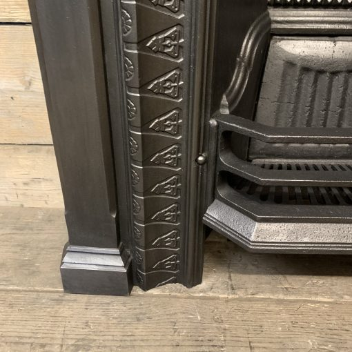Original Victorian Arched grate